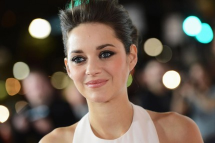 "Marion Cotillard på premiären av ""Rust and Bone"" i november."
