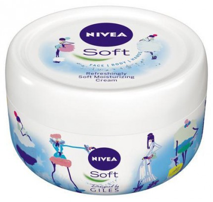 "Nivea Soft Limited Edition Giles Deacon ""Catwalk""."