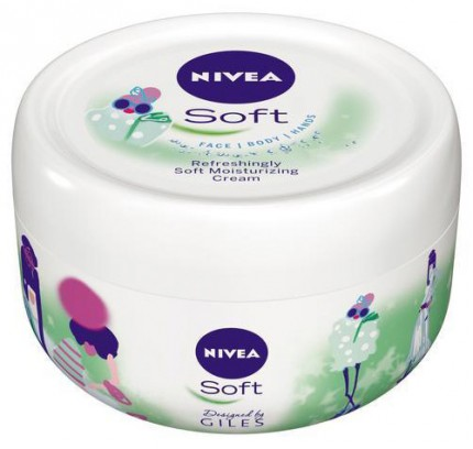 "Nivea Soft Limited Edition Giles Deacon ""Photoshoot""."