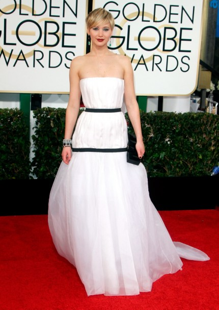 Jennifer Lawrence i Christian Dior Couture.