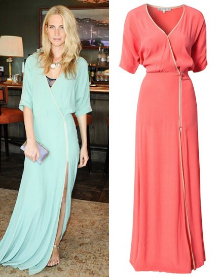 Poppy Delevingne i Dagmar Lillian dress, 2 995 kr.