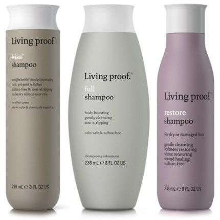 Living Proof finns i tre serier: frizz, full och restore.