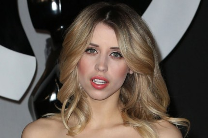 Peaches Geldof på BRIT Awards i London, 19 februari 2014.