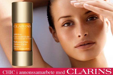 Clarins Radiance Plus Golden Glow Booster kostar 205 kr för 15 ml.