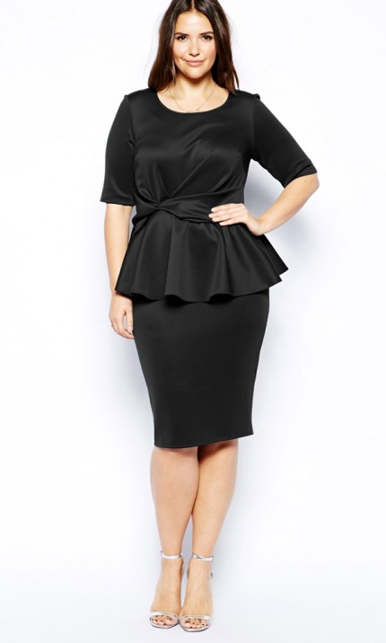 asos-curve-black-dress