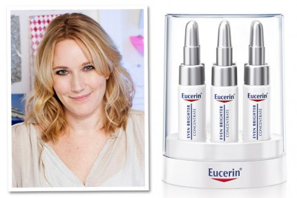 Jessica Blockström gillar Eucerin Even Brighter Concentrate, 389 kr/6 x 5 ml.