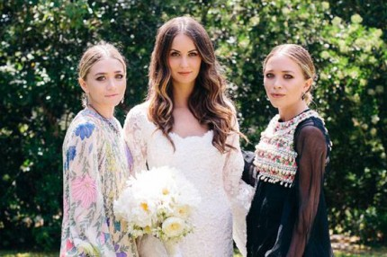 Mary-Kate och Ashley har designat sin första brudklänning