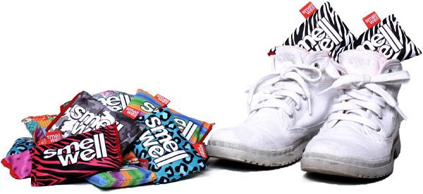 mot fotsvett i skor