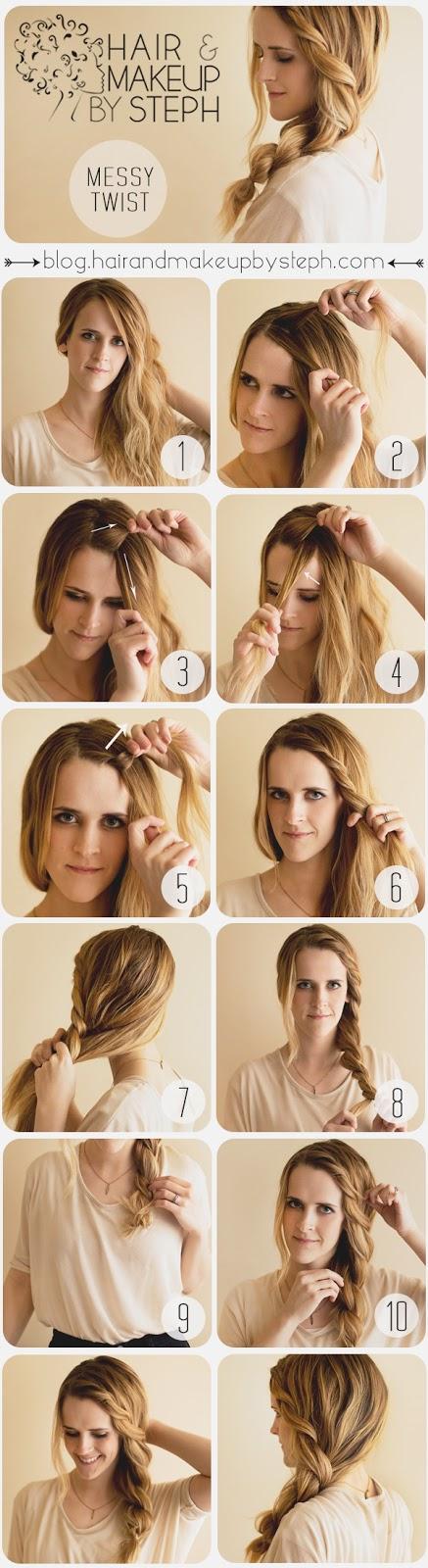 hur man gör fina frisyrer