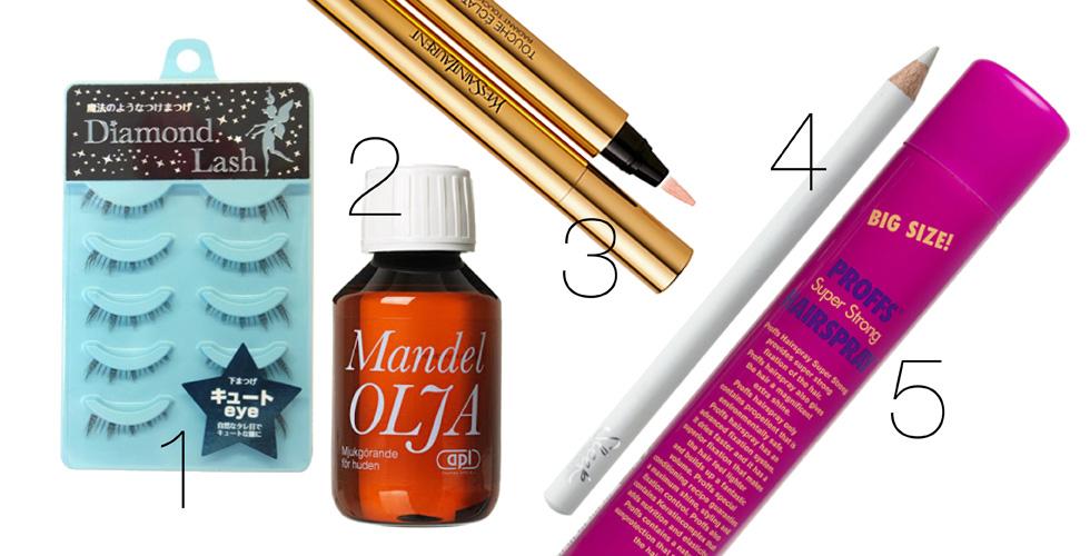 Ta inspiration u2013 Sandra Beijer listar sina topp 5 skönhetsfavoriter Baaam