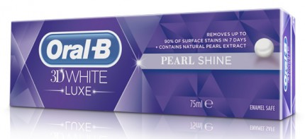 Oral-B D White Luxe Pearl Shine.