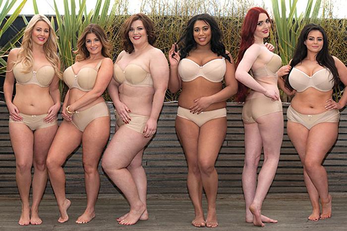 bikinis för kurviga kvinnor