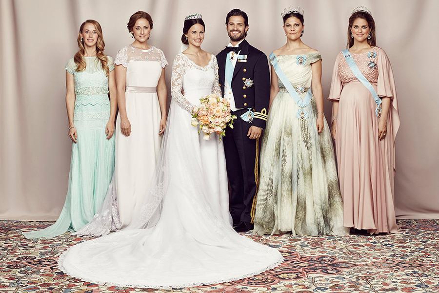 685cc6307134 Hon sydde prinsessan Sofias brudklänning – egentligen! | Baaam