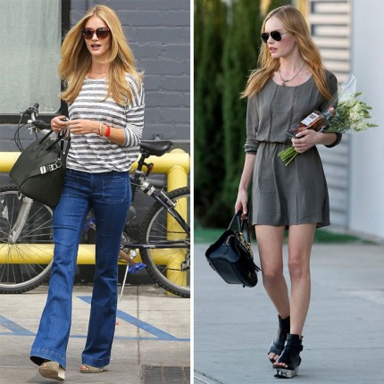 Rosie Huntington-Whiteley och Kate Bosworth i ANINE BING.