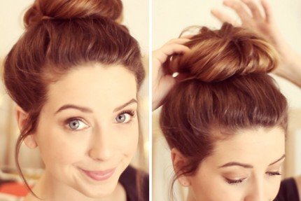how-to-messy-bun