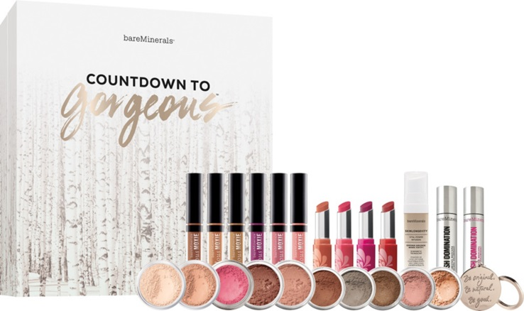 bareminerals adventskalender 2016