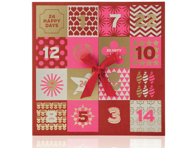 body shop adventskalender 2016
