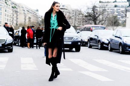 Kremi Otashliyska after Elie Saab Haute Couture SS16, 2016 Palais de Chaillot