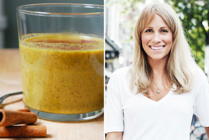 anja forsnor golden milk recept
