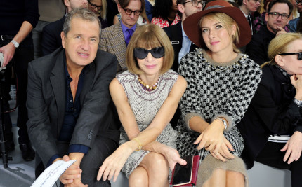 anna wintour front row