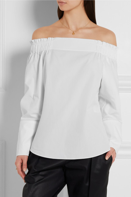 blus off shoulder