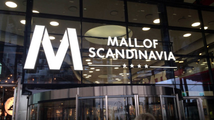 mall of scandinavia 2016
