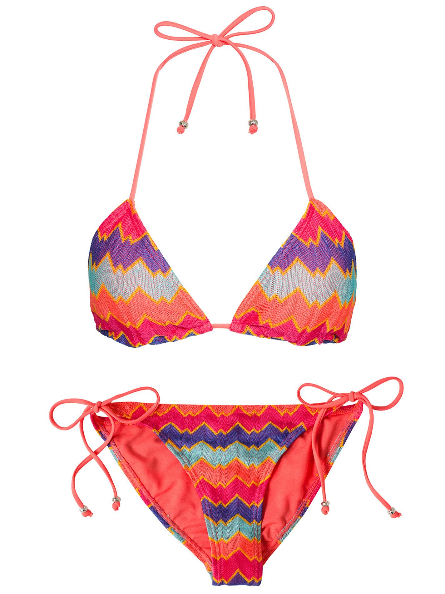 bikini missoni mönster