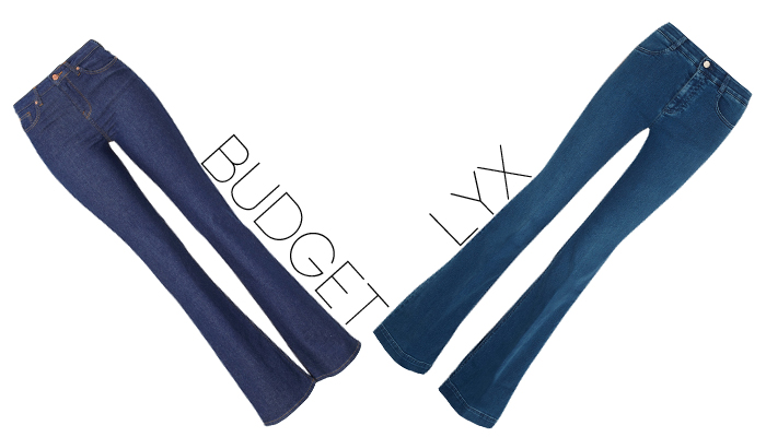 budget lyx jeans
