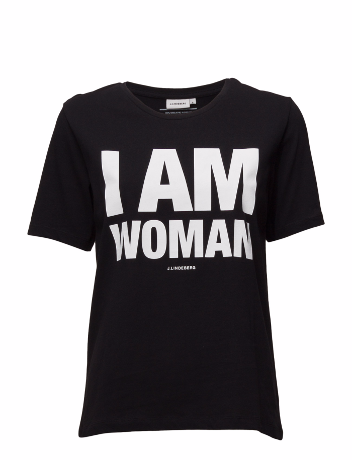 i am woman t-shirt