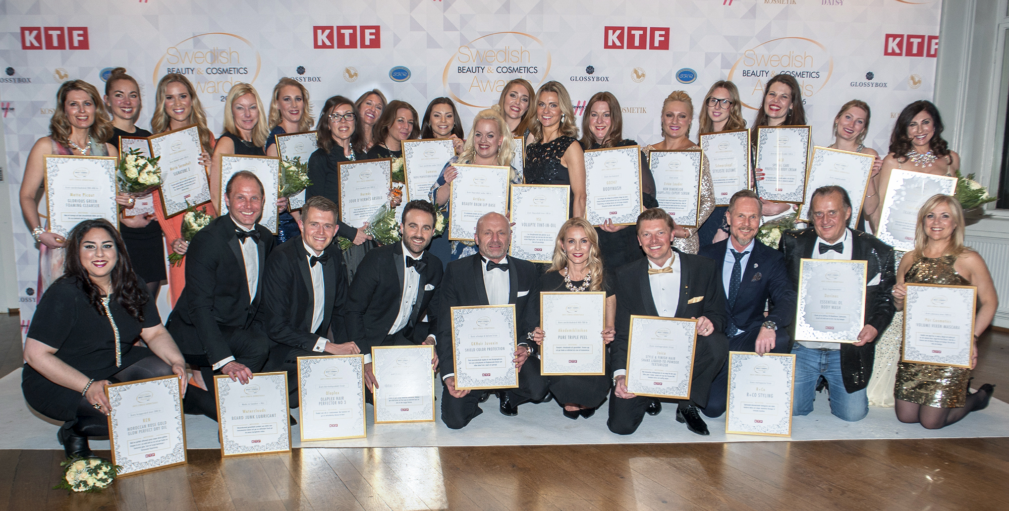 swedish beauty & cosmetics awards 2016