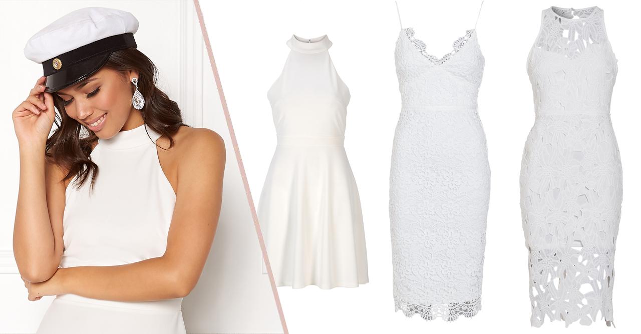 Studenten 2018 Fina vita klänningar under 500 kr Baaam