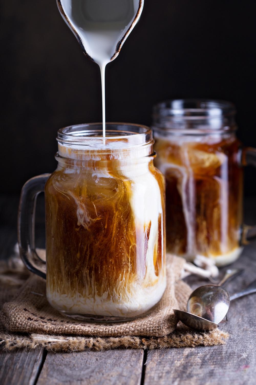 iskaffe recept snabbkaffe
