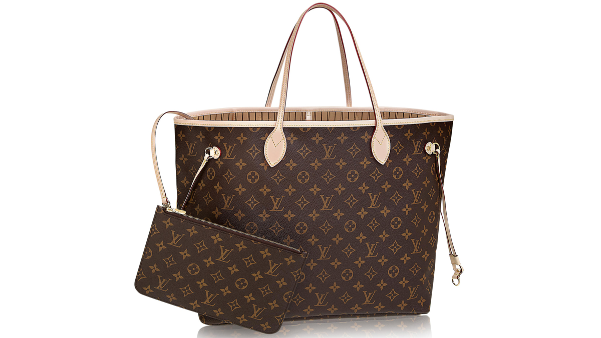Louis Vuitton Neverfull kostar