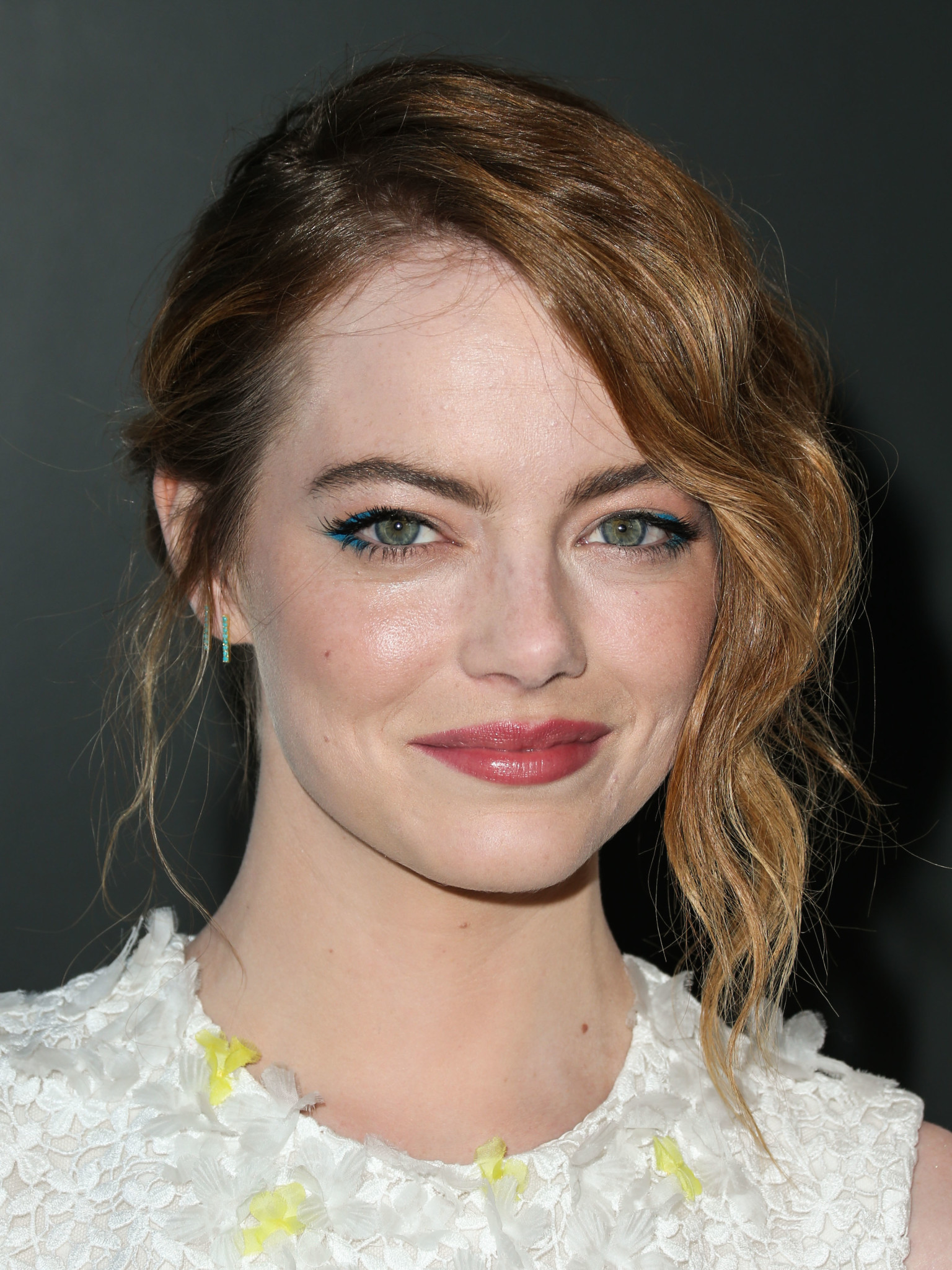 Emma Stone arrives at the Los Angeles Premiere Of Sony Pictures Classics' 'Irrational Man'
