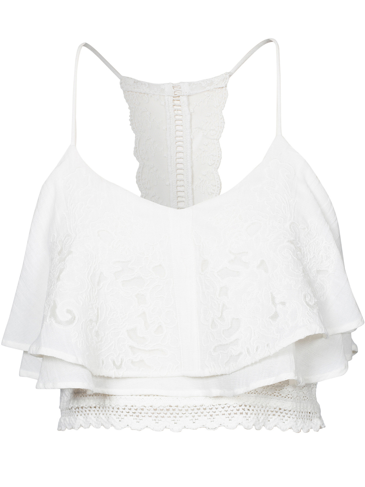 romantisk crop top