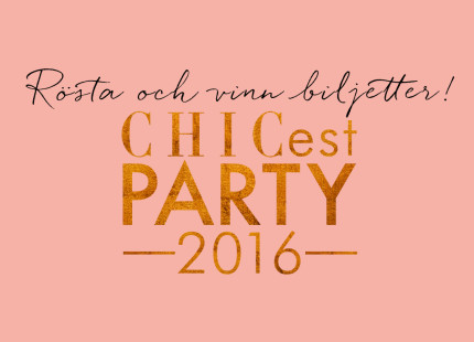 chicest party 2016 rösta