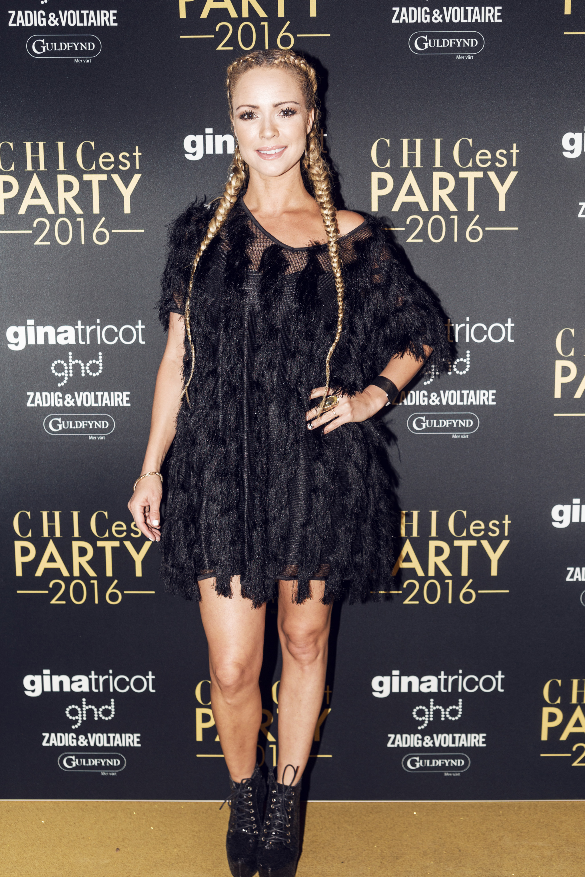 chicest party 2016 röda mattan