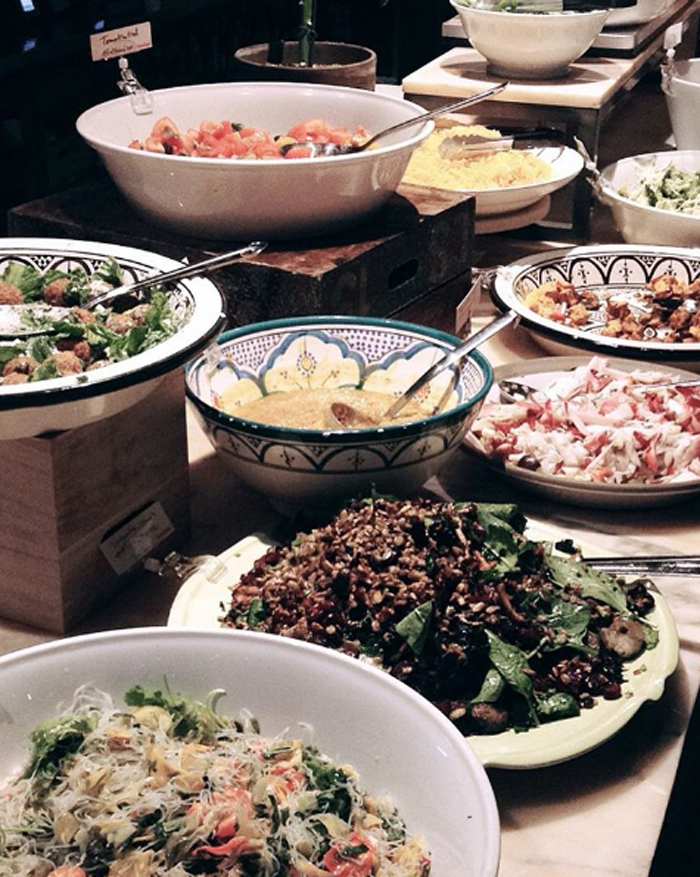 bästa lunchbuffe stockholm