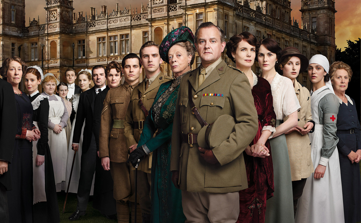 downton abbey premiär