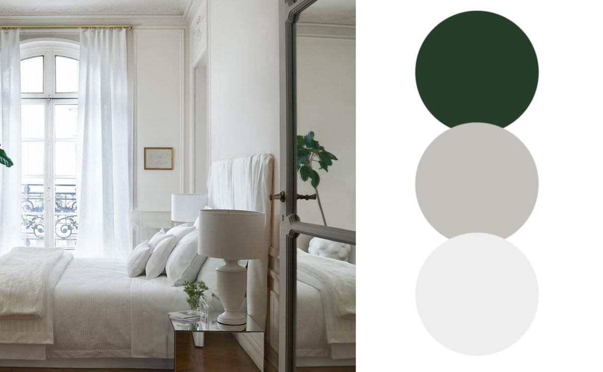 vilken färg passar till grått
