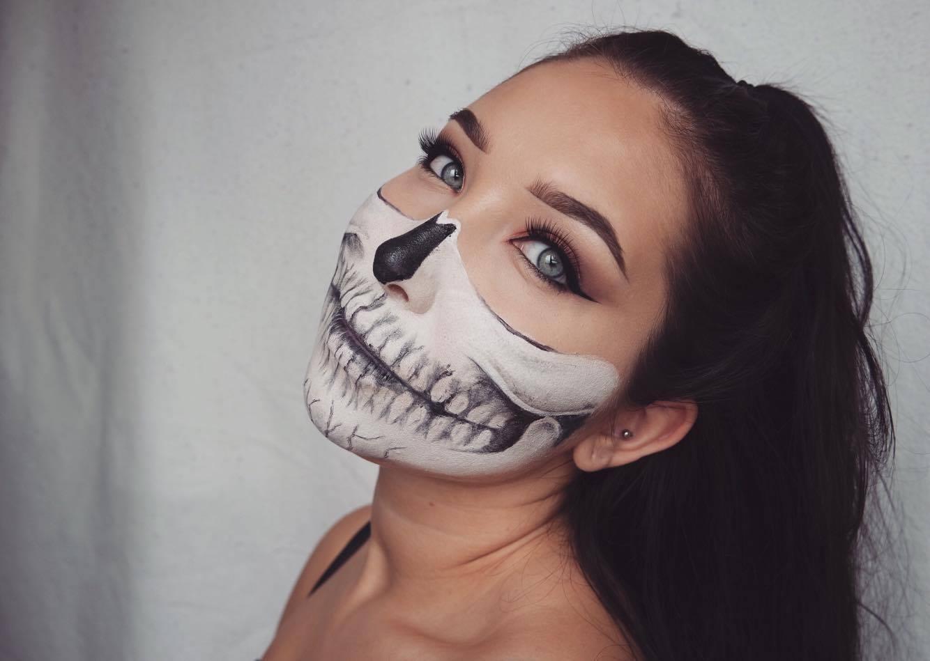 Laskiga Halloween Sminkningar.26 Laskiga Halloween Sminkningar Baaam