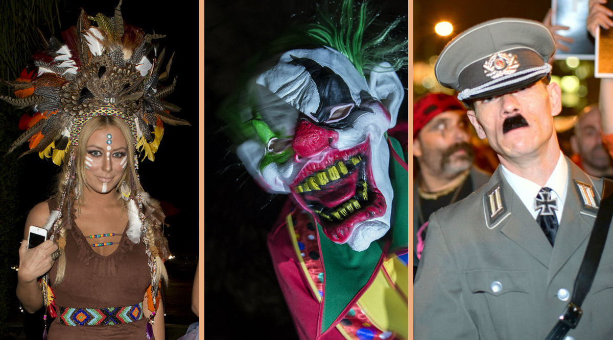 världens läskigaste halloween dräkt