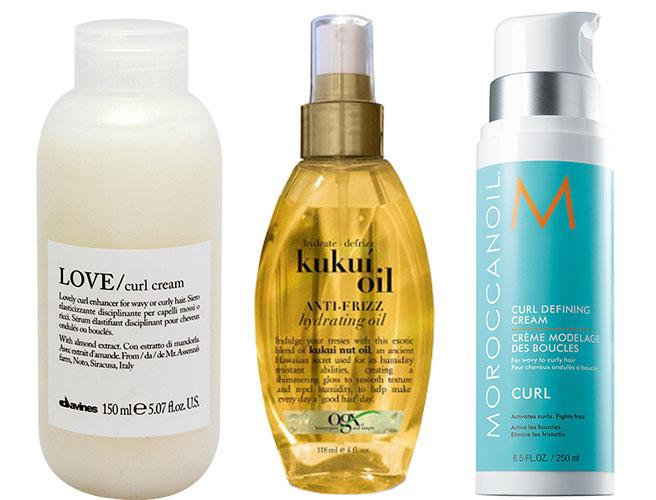 schampo och balsam för lockigt hår