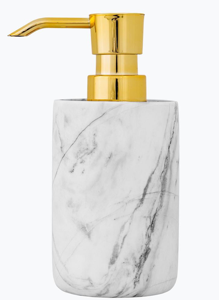 tvålpump marmor