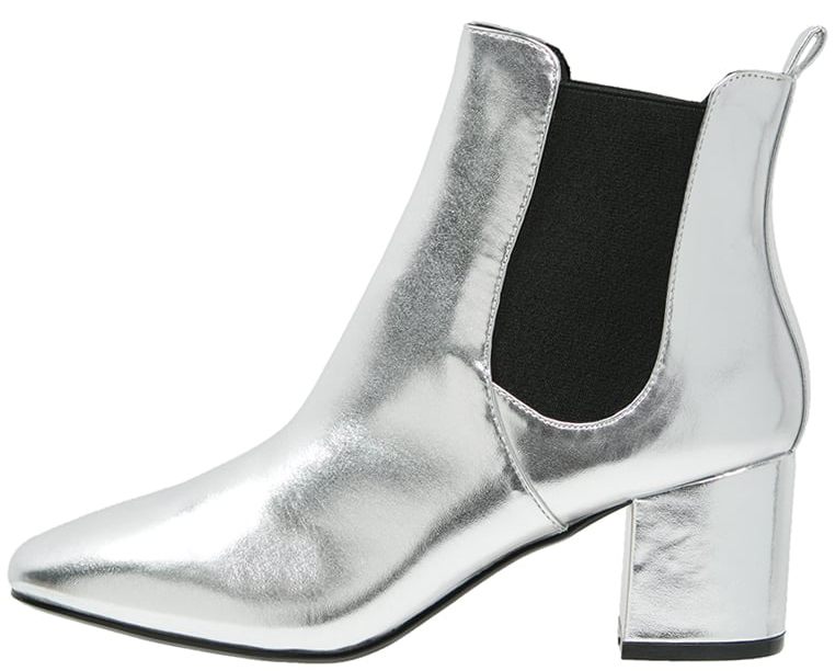 ankelboots silver