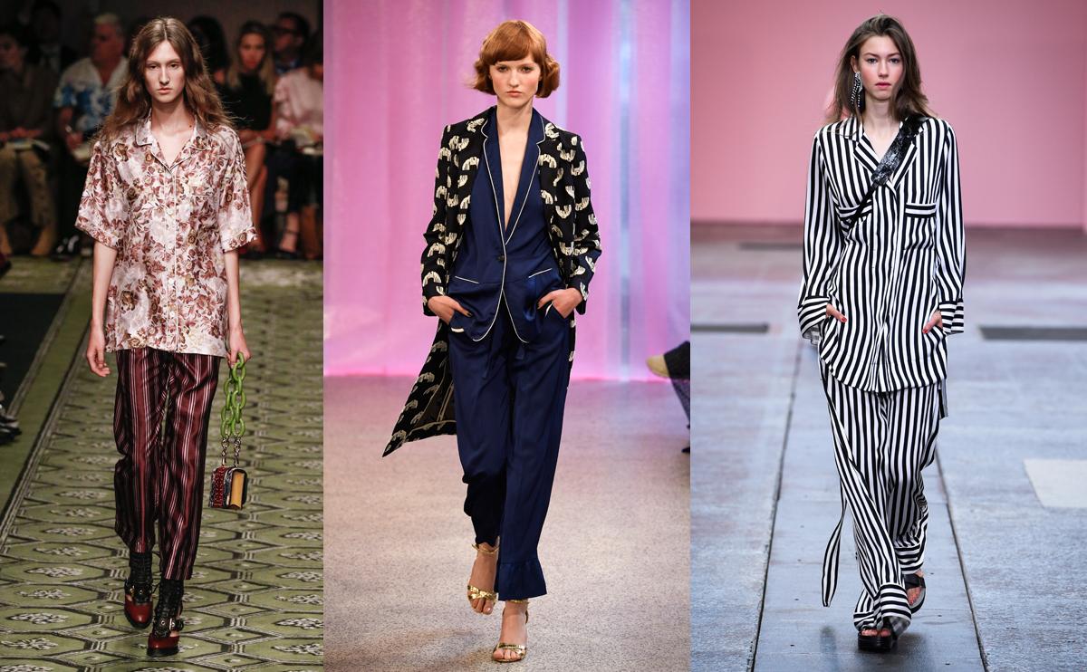 pyjamas mode vårens trender 2017
