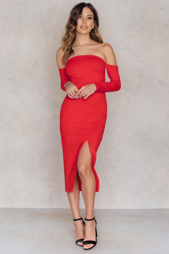 17 snygga röda klänningar till julfesten | Baaam