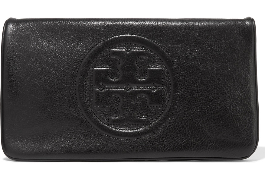 tory burch clutch svart