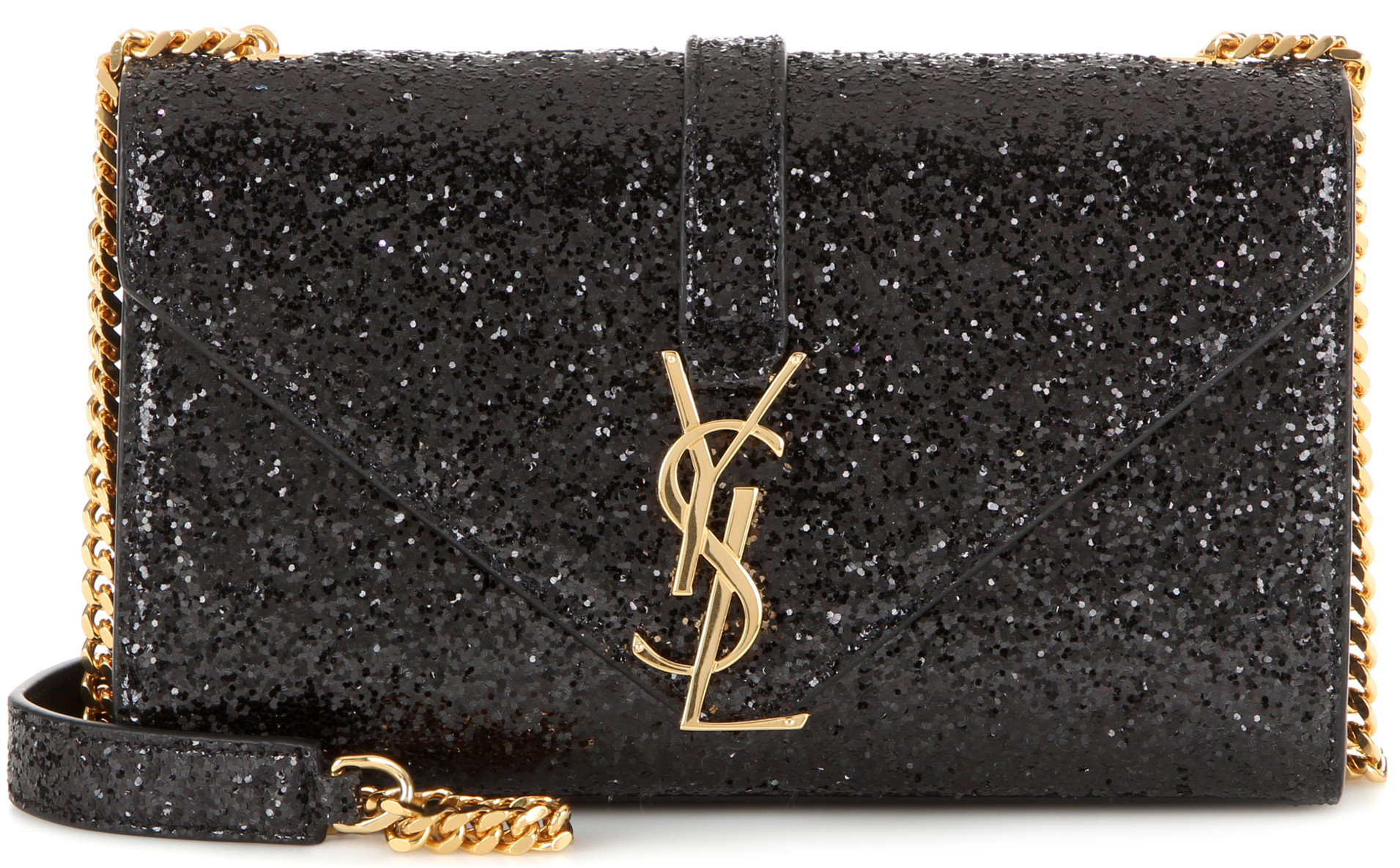 saint laurent väska glitter
