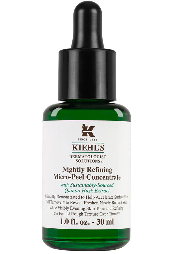 "Nattpeeling,""Nightly Refining kiehls"